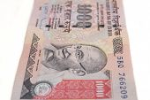 Thousand Rupee Note