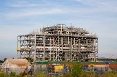 foto of lng  - Liquefied natural gas Refinery Factory with LNG storage tank using for Oil and gas industry