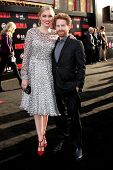 LOS ANGELES - MAY 8:  Clare Grant, Seth Green at the