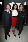 LOS ANGELES - MAY 8:  Martin Short, Laurie David, Rita Wilson at the