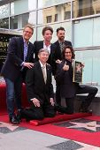 LOS ANGELES - MAY 9:  Doug Davidson, Richard Marx, Jason Thompson, Leron Gubler, Rick Springfield at