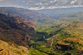 Waimea Canyon on Kauai Island
