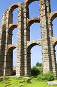 Miracles aqueduct in Merida, Extremadura, Spain
