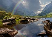 Approaching Storm Gap Of Dunloe Ireland