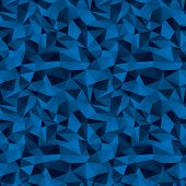 seamless blue vector background