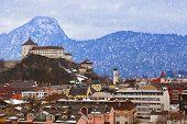 Castle Kufstein in Austria - architecture and travel background
