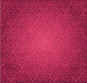 Red  vintage seamless grunge floral background design