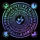 Runes Generated Hires Texture