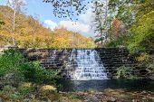 Dam on Otter Lake, Blue Ridge Parkway, Virginia