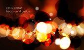 eps10 vector unfocused night lights concept background