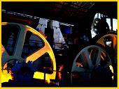 foto of dynamo  - inside a factory  - JPG