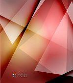 Red and orange abstract blurred color background, hi-tech template