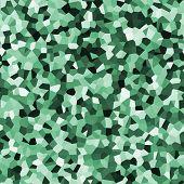 Green infinity galvanized sheet pattern