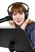 Recording a Voice Over or Singing