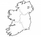 Provinces On Map Of Ireland
