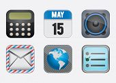 Set Of Social Media Buttons