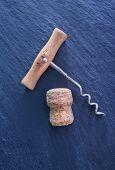 cork from a wine bottle
