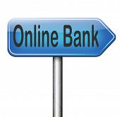 online internet banking money deposit account