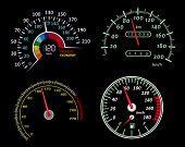 Speedometers set