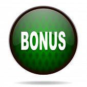 bonus green internet icon