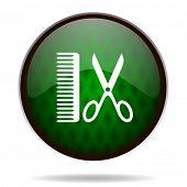 barber green internet icon