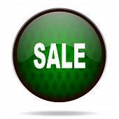 sale green internet icon
