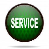service green internet icon