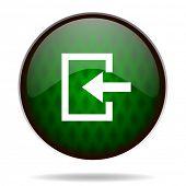 enter green internet icon
