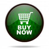 buy now green internet icon