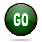 go green internet icon
