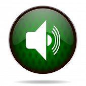 volume green internet icon