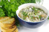 Cream Soup With Boletus