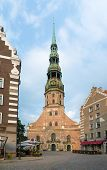 2014, July 31: Saint Peter's Cathedral in Riga, Latvia