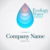 Drop Water Ecology Logo