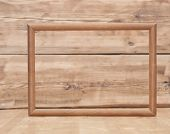 wall wood texture with wooden frame