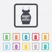 Pregnant woman dress sign icon. Maternity symbol