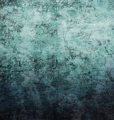 stock photo of rusty-spotted  - Spotted blue metal background - JPG