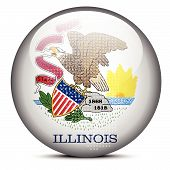 picture of illinois  - Vector Image  - JPG
