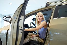 stock photo of driving school  - auto business - JPG