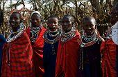 Mulheres Masai.