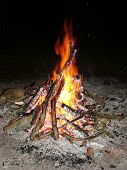 Round The Camp Fire