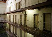 Gefängnis Zelle block