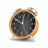 Elegante relógio de alarme