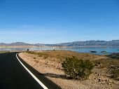 Road To Lake Mead, Nevada