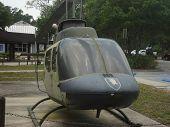 US Vietnam War era helicopter at a