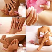 body care collage
