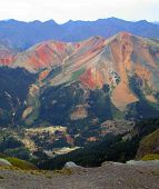 Red Mountains From Imogene Pass