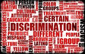 image of disadvantage  - Discrimination Creative Concept Grunge as a Art - JPG