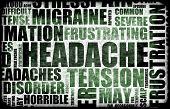 Severe Headache Medical Condition as a Background