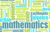 stock photo of jargon  - Mathematics Studies as a Abstract Math Background - JPG
